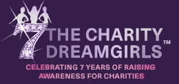7 years of the Charity Dreamgirls logo